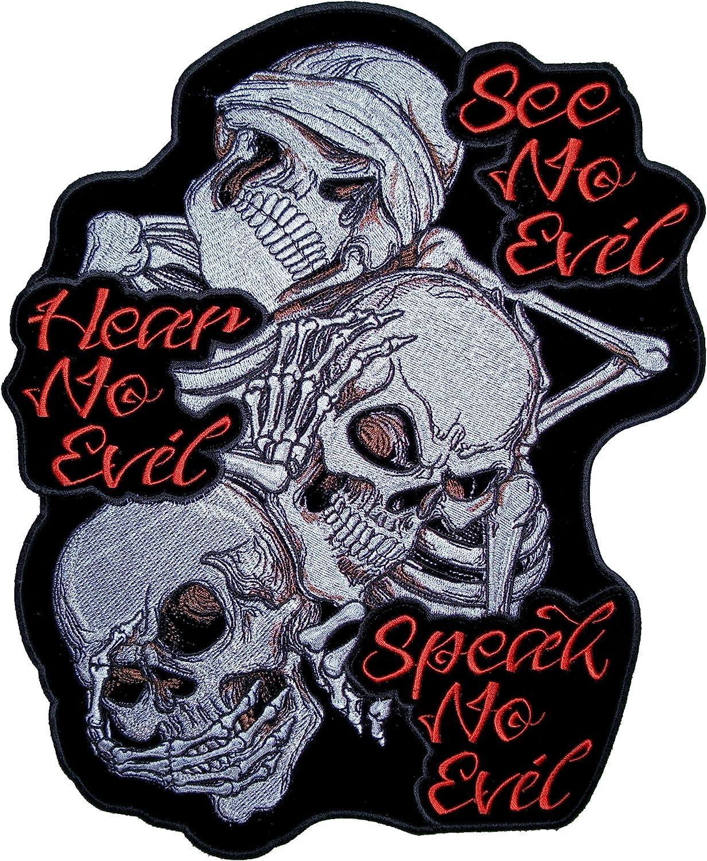 Amazon Com Leather Supreme See No Evil Hear No Evil And Speak No