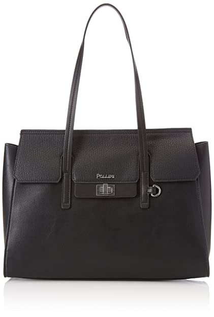 Sc4500pp04sb100a, Womens Top-Handle Bag, Nero, 0.1x0.1x0.1 cm (W x H x L) Pollini