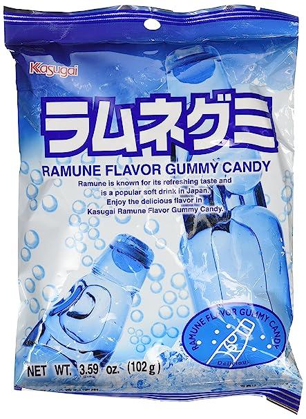 Ramune Gummy Candy