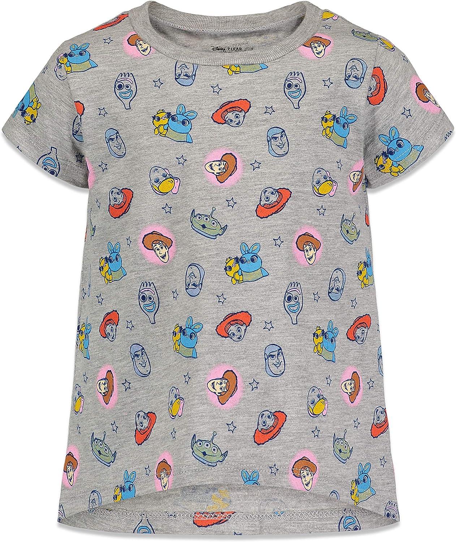 Disney Toy Story Girls 4 Pack Short Sleeve T-Shirts