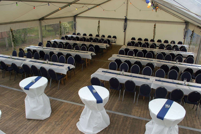 Tischdeckenrolle 25 M Lang Aus Stoffähnlichem Vlies (Farbe U0026 Breite Nach  Wahl), WEIß, 1m X 25m, Ideal Für Jede Party, Catering, Vereinsfeier, ...