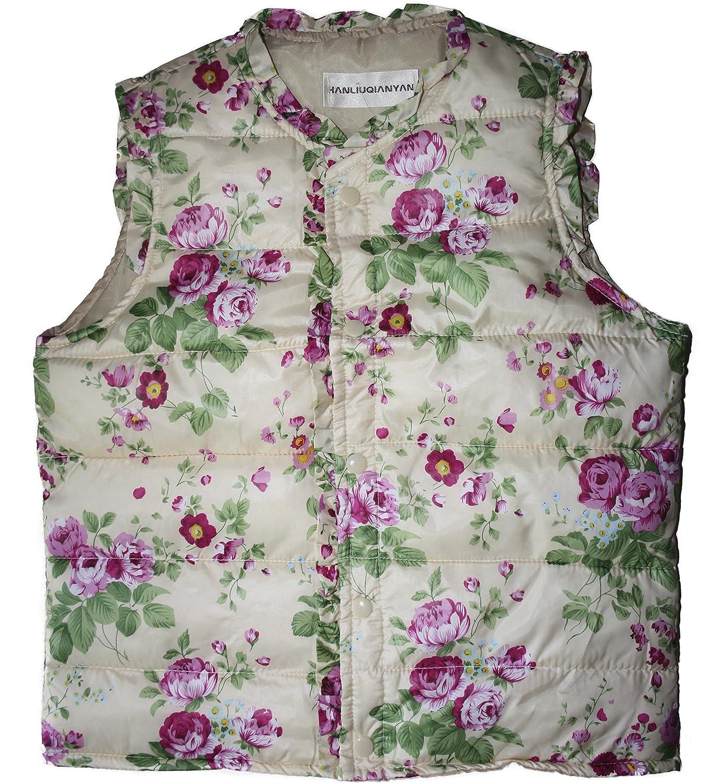 Averlexx Girl Winter Warm Vest Outwear Coat Kids Light Weight Padded Waistcoat