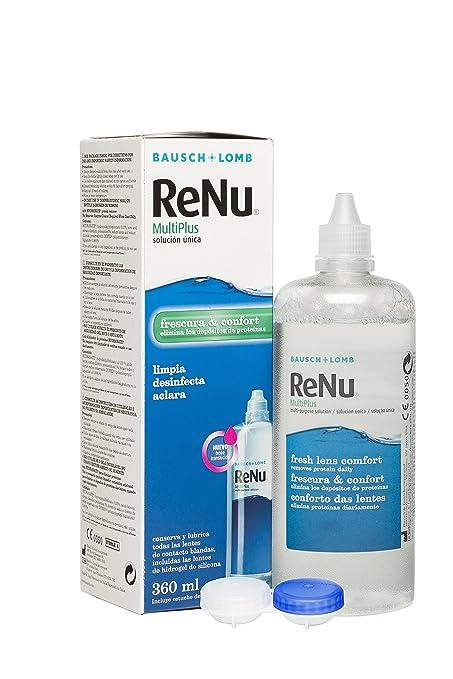 7fc1db93f6291 ReNu Multiplus Solución única - 360 ml  Amazon.es  Salud y cuidado ...