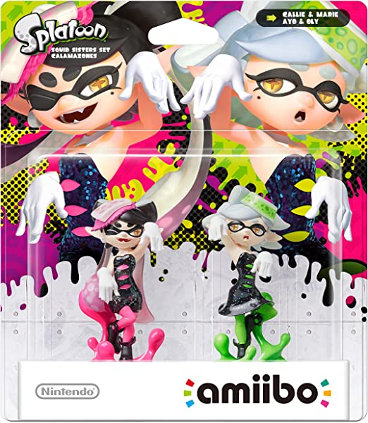 Nintendo - Figura amiibo Splatoon Mar y Tina, Pack De 2 Unidades: Amazon.es: Videojuegos