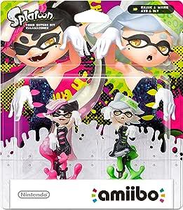 Nintendo - Figura amiibo Splatoon Mar y Tina, Pack De 2 Unidades ...