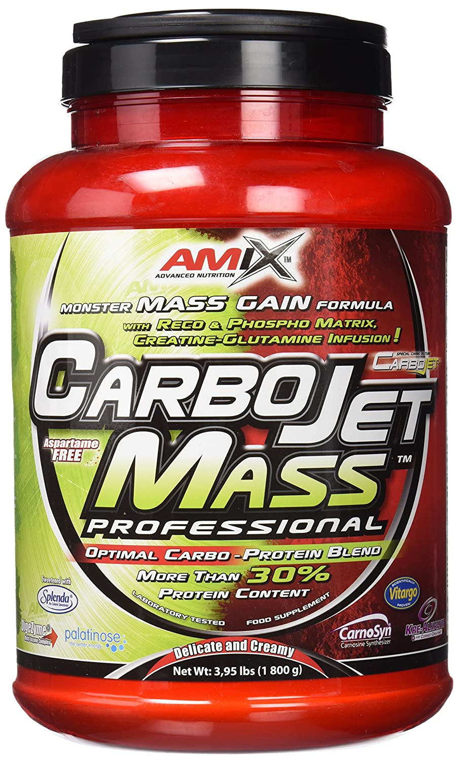 Amix Carbojet Mass Professional Carbohidratos - 1800 ...
