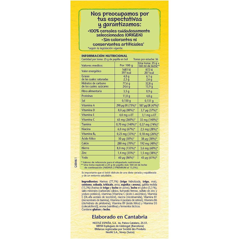 NESTLÉ Papilla 8 cereales con Galleta María - Alimento para Bebés: Amazon.es: Amazon Pantry
