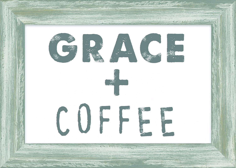 Multi Carpentree Grace /& Coffee Framed Plaque