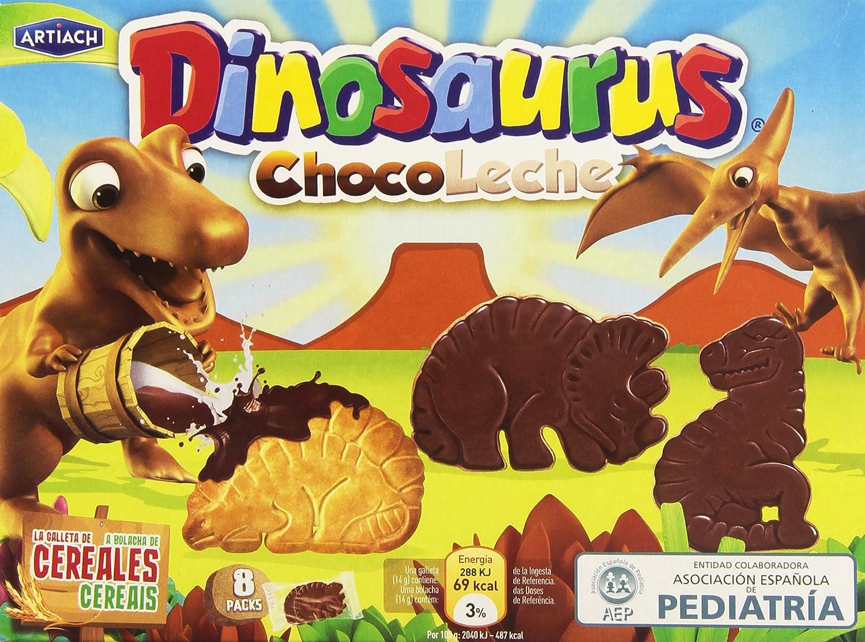 Dinosaurus ChocoLeche Galleta de Cereales con Chocolate con Leche - 340 g: Amazon.es: Amazon Pantry