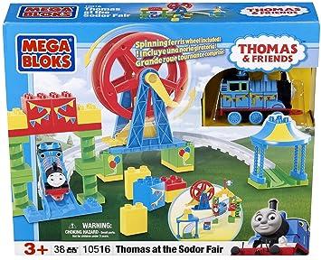 Mega Bloks 10516U - Juego de construcción - Sodor Tomás en la Feria