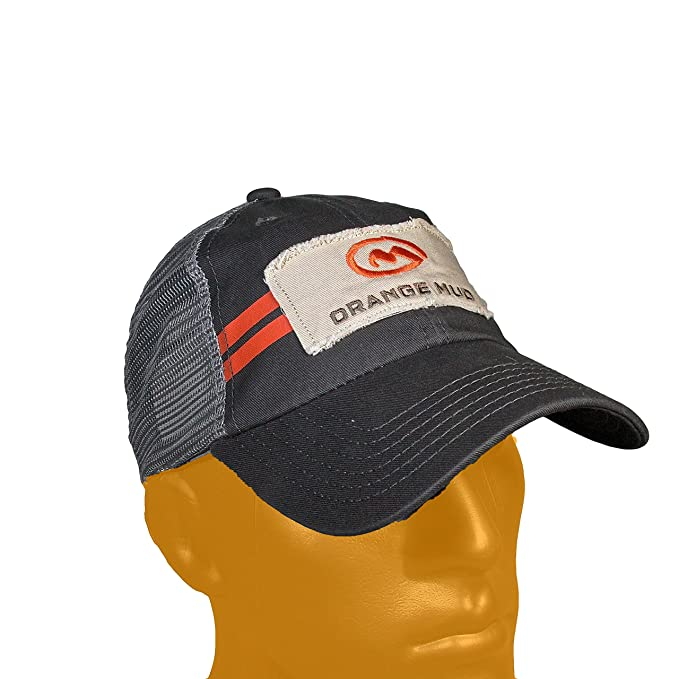 47feea6c Image Unavailable. Image not available for. Color: Orange Mud Trucker Hat