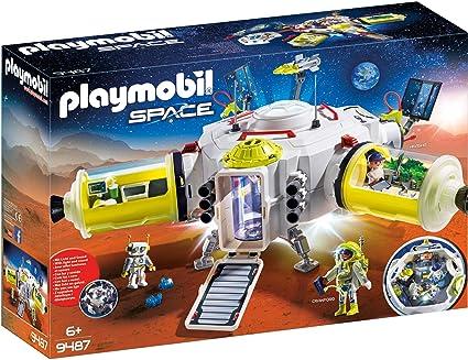Amazon.com: PLAYMOBIL Mars Estación Espacial (Renovado ...