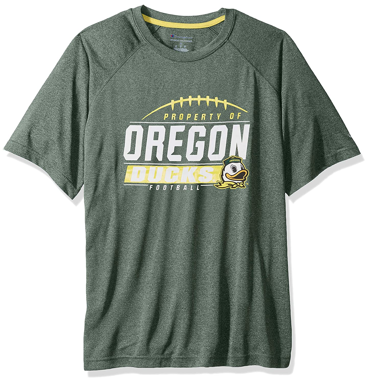 Dark Green NCAA Oregon Ducks Mens NCAA Mens Short Sleeve Football Season Jersey Teechampion NCAA Mens Short Sleeve Football Season Jersey Tee X-Large