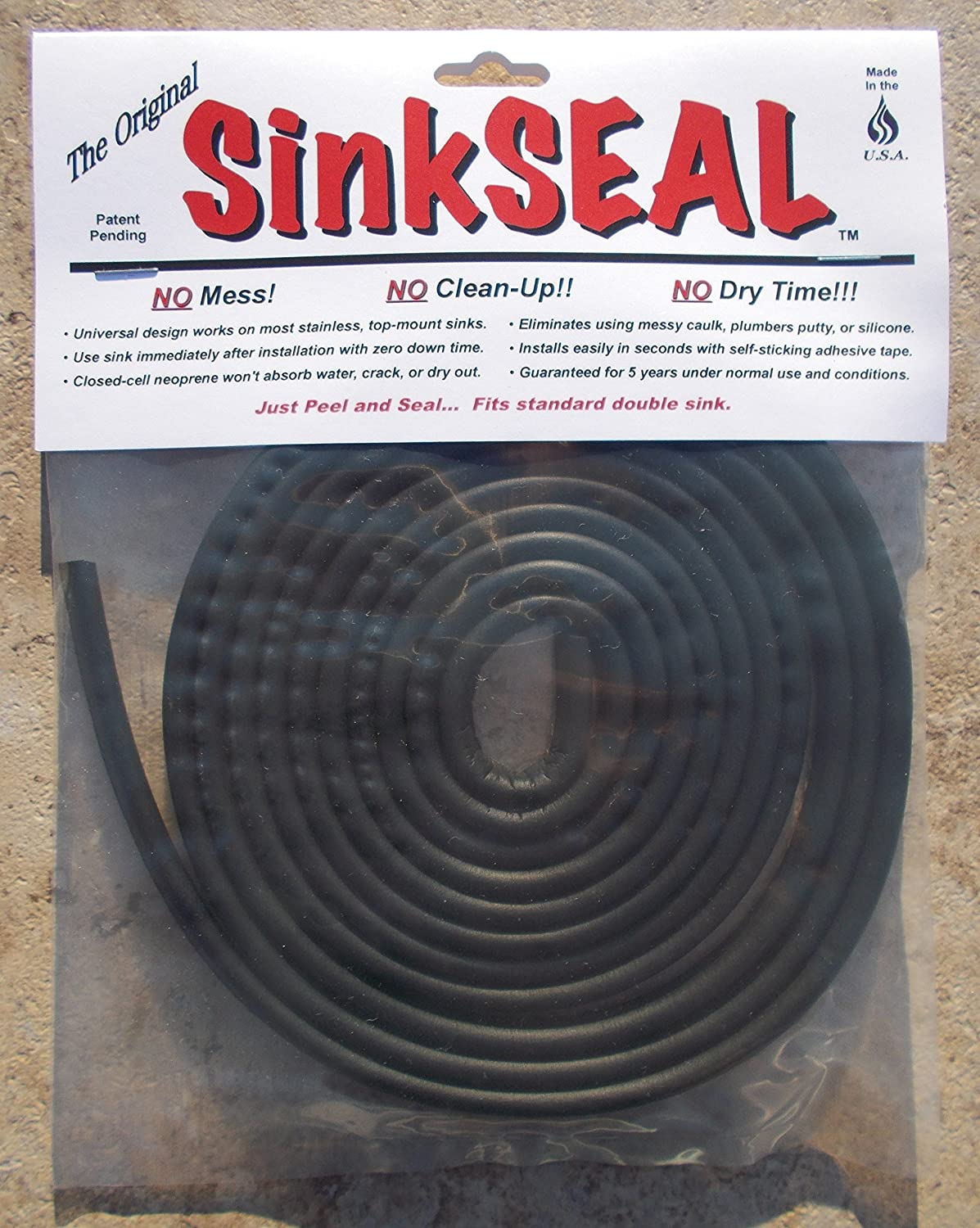 SinkSEAL Kitchen Sink Gasket - \