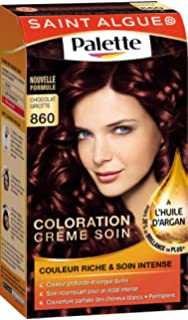 saint algue palette coloration permanente chocolat griotte 860 - Coloration Mousse Saint Algue