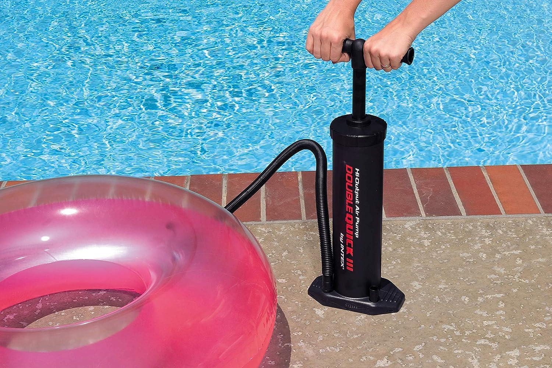 Amazon.com: Intex Double Quick III piscina Flotador inflable ...