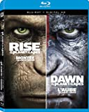 Rise Of The Planet Of The Apes + Dawn Of The Planet Of The Apes (Bilingual) [Blu-ray + Digital Copy]