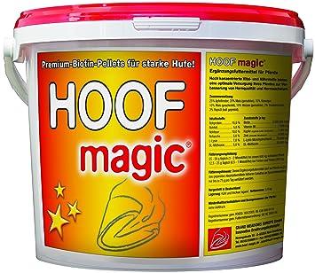 Alimento suplementario para caballos - con biotina vitamina B6 cobre zinc y minerales - para pezuñas fuertes - 5kg para 200 días: Amazon.es: Productos para ...