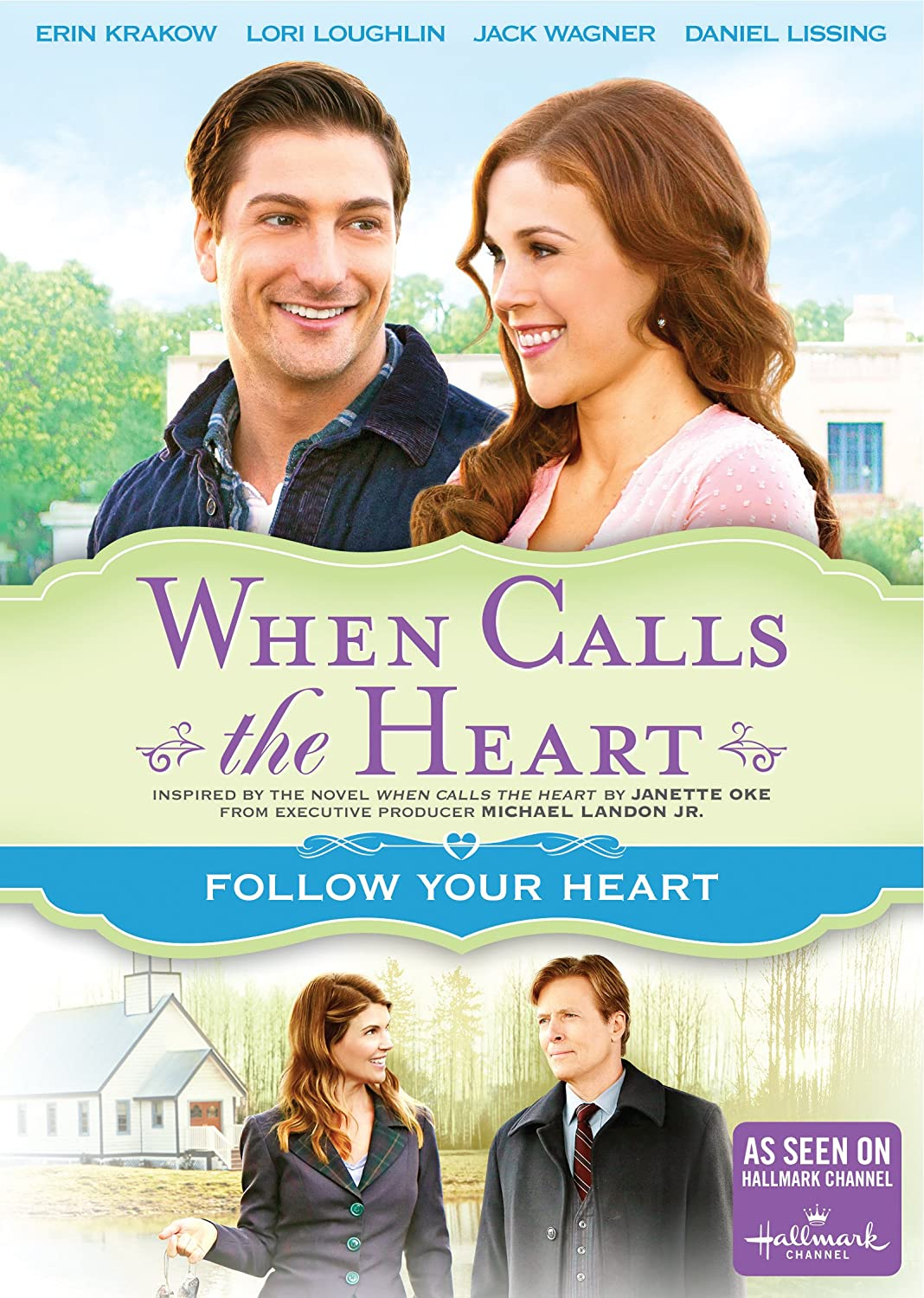 When Calls the Heart: Follow Your Heart - DVD image