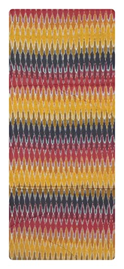 Bharathi ikat Fabs Handloom Cotton Unstitched Kurta Material For Women (Multi-Coloured)