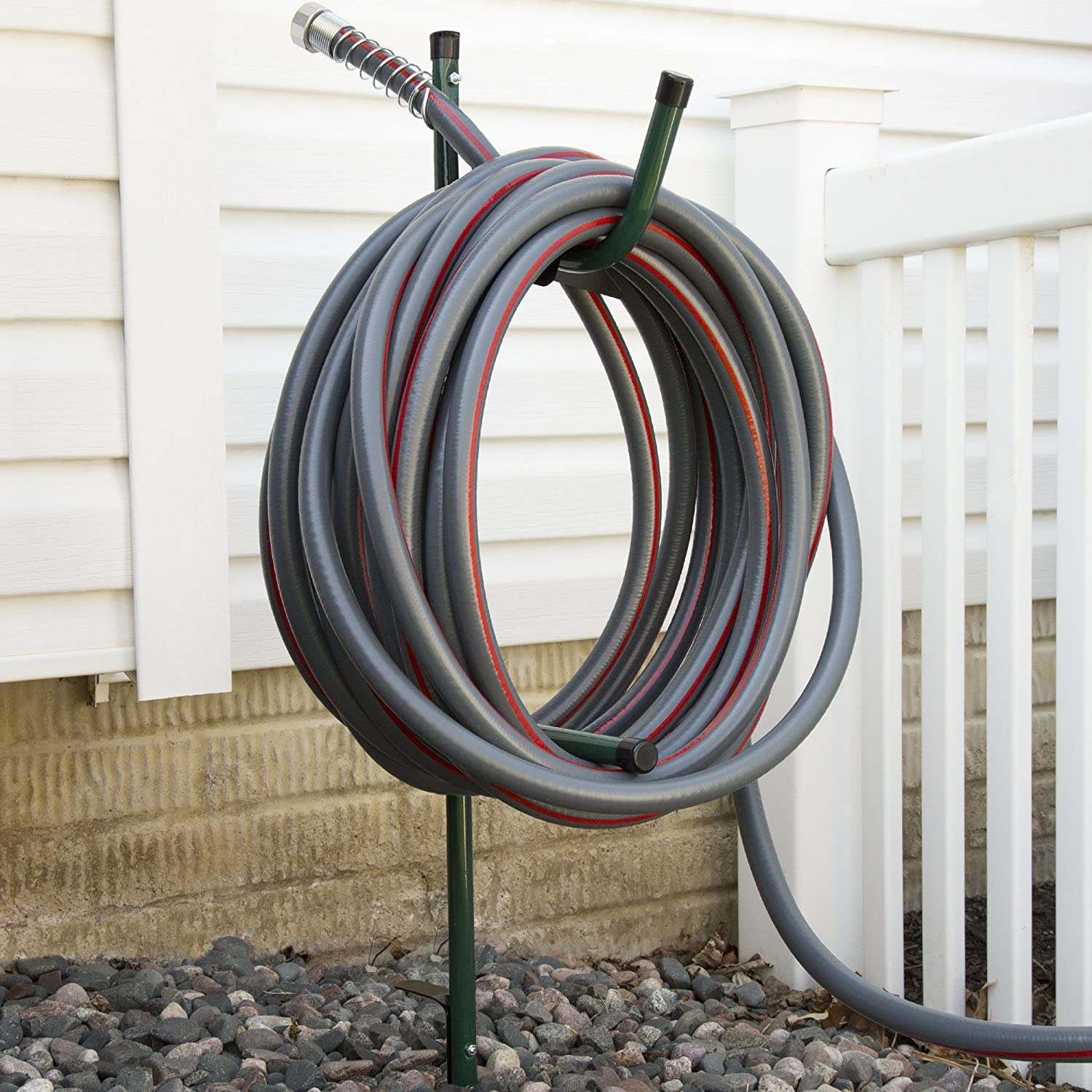Merveilleux Amazon.com : Stalwart In The Ground Hose Management Bracket 50u0027 Capacity :  Garden U0026 Outdoor
