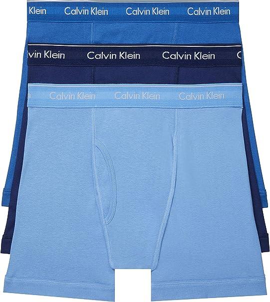 Calvin Klein Calzoncillos bóxer para hombre 100% algodón - Multi - Large: Amazon.es: Ropa y accesorios