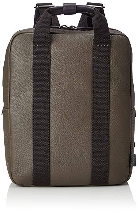 ECCO - Eday L Medium Backpack, Mochilas Hombre, Braun (Brown), 12x37x31