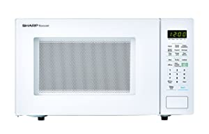 Sharp Microwaves ZSMC1441CW Sharp 1,000W Countertop Microwave Oven, 1.4 Cubic Foot, White