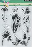 Penny Black 5 x 7.5-inch Clear Stamps Sheet-Enjoy