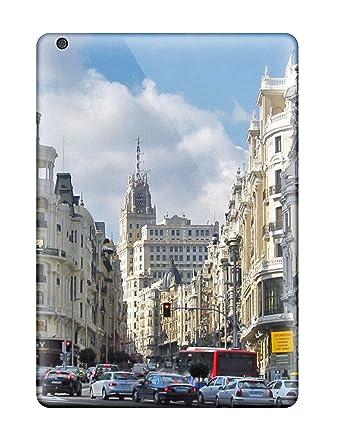 Amazon.com: Special Design Back Madrid City Phone Case Cover ...