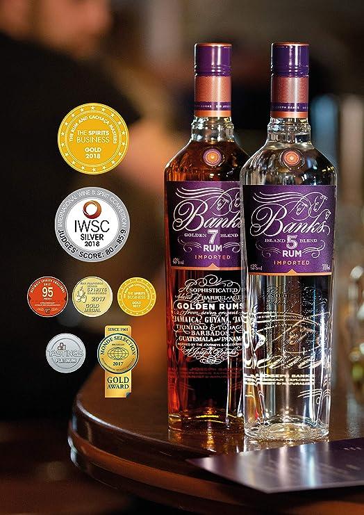 Banks Banks 7 Golden Age Rum 43% Vol. 0,7L - 700 ml