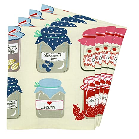 Paño de cocina toallas (100% algodón, Super absorbente, diseño colorido impreso paños