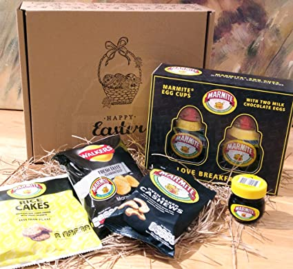 Marmite lovers easter gift box marmite egg cups with two milk marmite lovers easter gift box marmite egg cups with two milk chocolate eggs rice negle Gallery