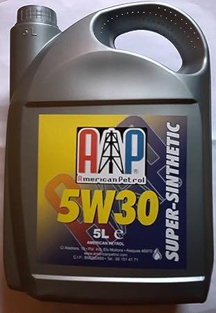 ACEITE MOTOR COCHE 5W30 5L ACEA C3 APISL CF SUPER SINTETICO: Amazon.es: Coche y moto