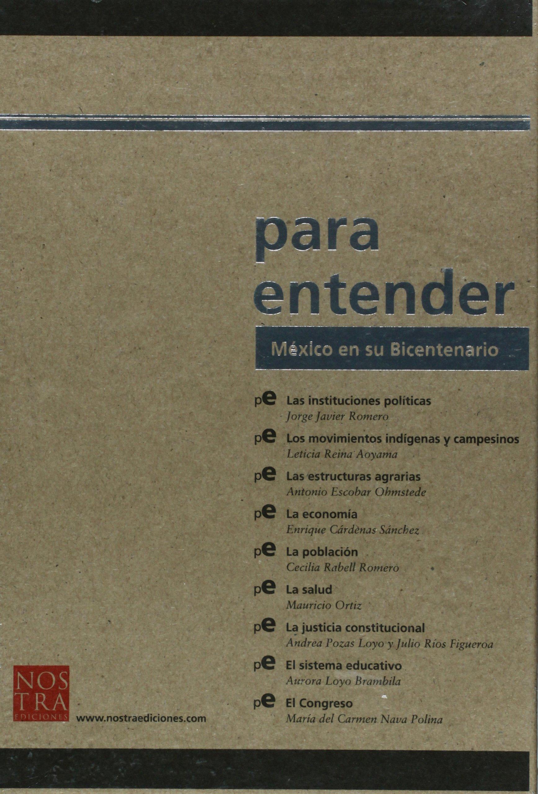 Mexico en su Bicentenario (Spanish Edition): Cecilia Rabell ...