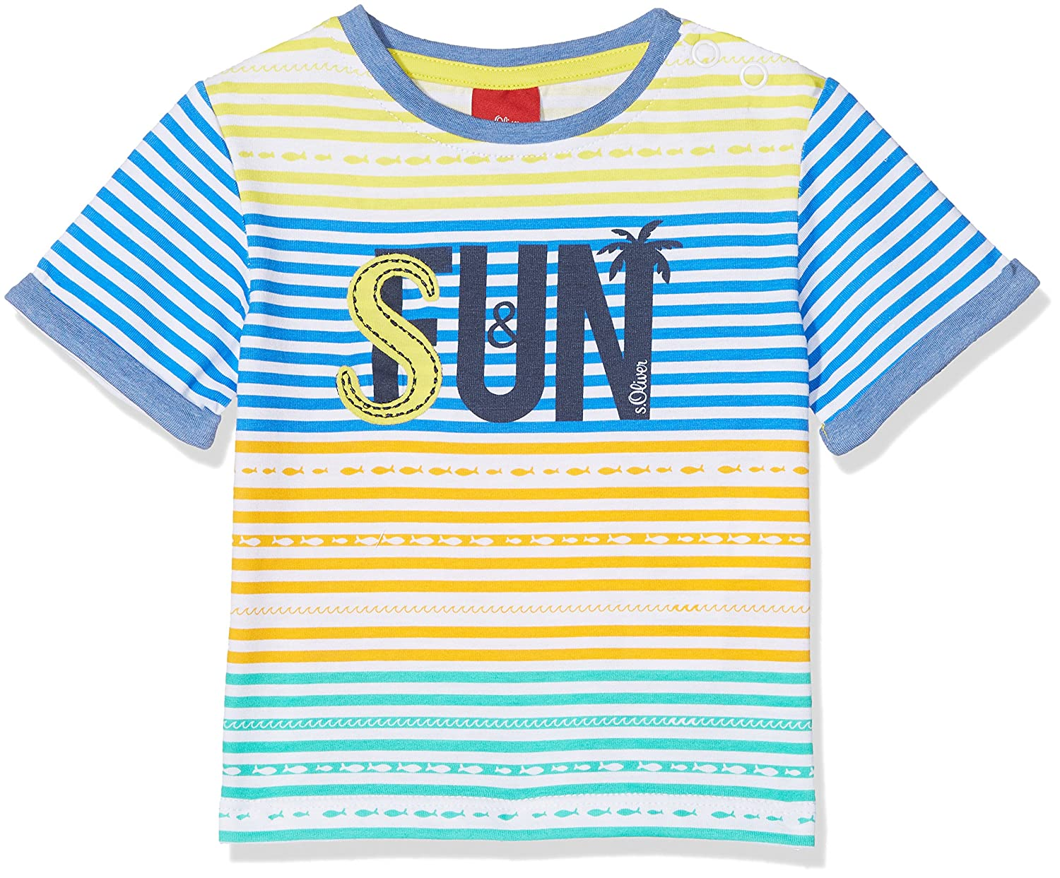 s.Oliver Baby Boys' T-Shirt 65.805.32.5188