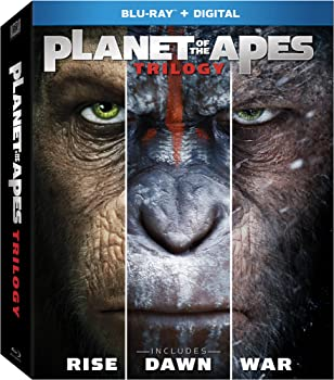 Planet of the Apes Trilogy on Blu-ray + Digital