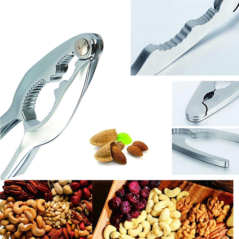 Set di utensili da cucina a forma di schiaccianoci JoyFork in lega di zinco cromata Apri di aragoste Cracker di noci NutCraft multiuso per frutti di mare come aragosta crostacei granchi