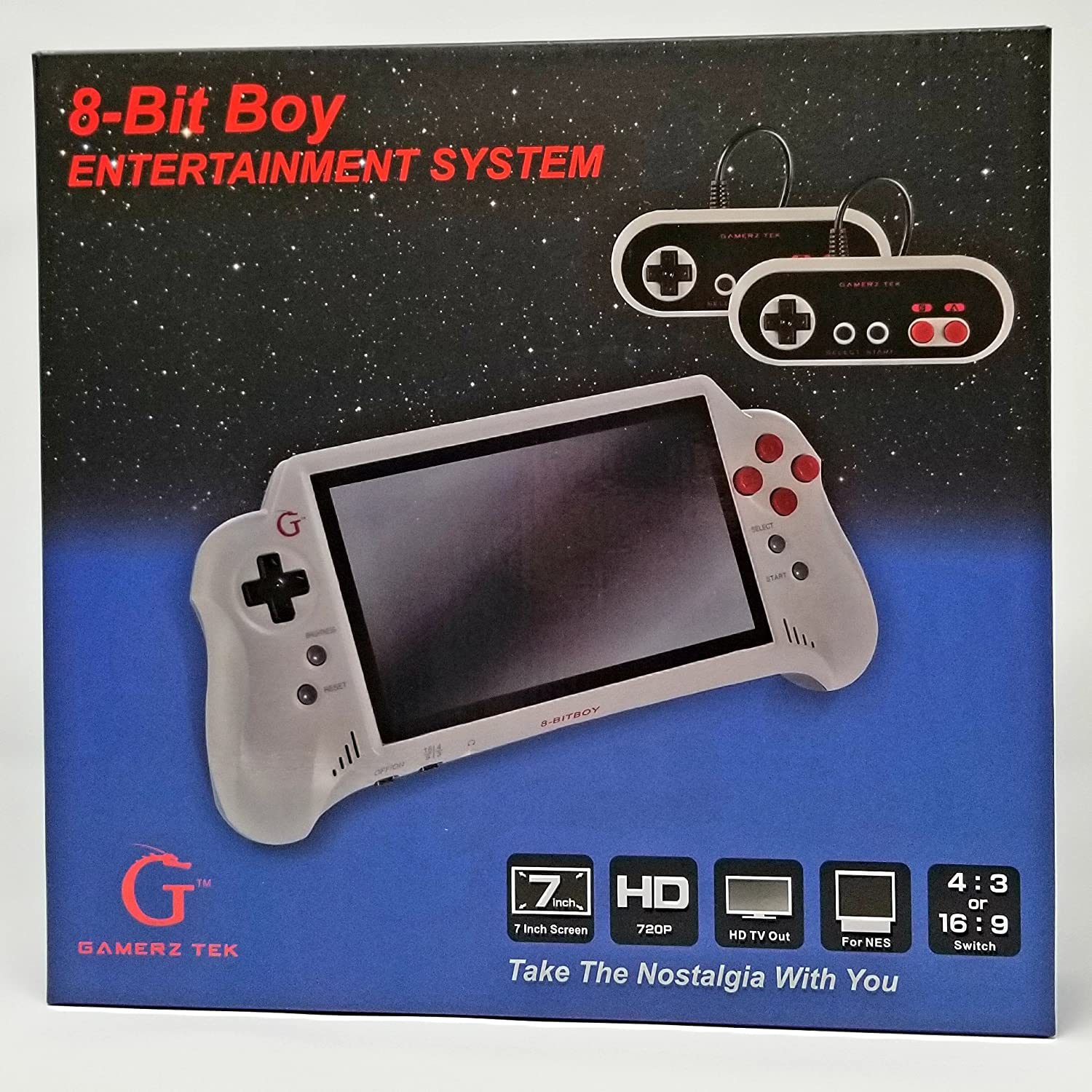 Amazon 8 Bit Boy Portable NES System With HDMI Video Games