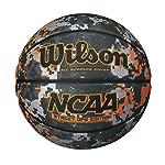 WILSON NCAA Street Ops Balón de Baloncesto, tamaño Oficial, Camuflaje/Anaranjado