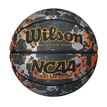Wilson NCAA Street Ops Camo/Orange - Balón de Baloncesto, tamaño ...