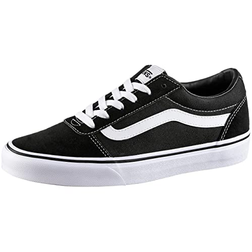 37ae053625 Vans Ward Suede Canvas Scarpe da Ginnastica Basse Donna  Amazon.it  Scarpe  e borse