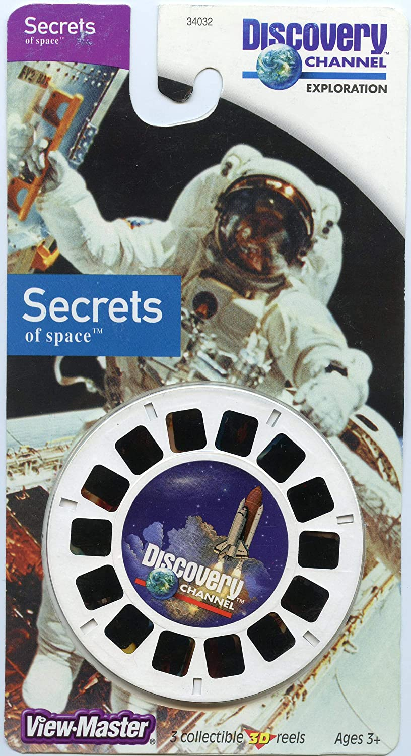 3 Reels on Card NEW ViewMaster Discovery Channel Secrets of space