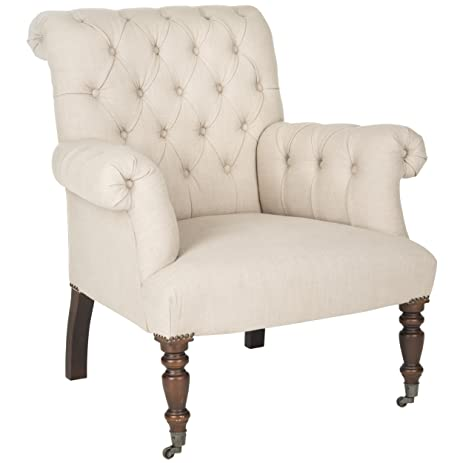 Safavieh Mercer Collection Bennet Taupe Club Chair