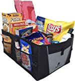 Car Trunk Organizer by Busy Life - Best Trunk Organizer For Car SUV Truck and Van - Car Storage Organizer Does Not Slid Around - Must Have Collapsible Trunk Organizer for any Vehicle