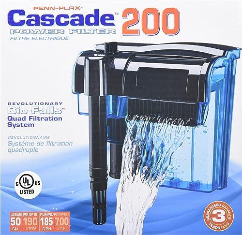 penn-plax-cascade-hang-on-aquarium-filter
