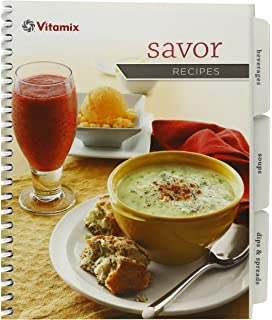 Vitamix whole food recipes vitamix 0791623317803 amazon books vitamix savor recipes book only forumfinder Choice Image
