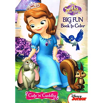 Disney Sofia the First Coloring and Activity Book Set (2 Books ~ 96 pgs each): Toys & Games