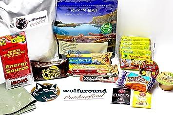 * NUEVO * Vegano) - Exterior Alimentos, 782 g - 2488 Calorías - Hiking de día Tour (24h) de provisiones: Amazon.es: Deportes y aire libre