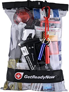 GetReadyNow 2 Person Deluxe Car Emergency Kit